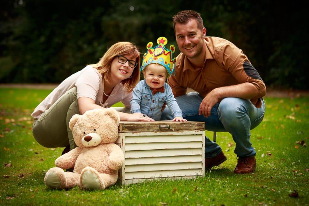 Fotoshoot met Niels, Sharon en Noah