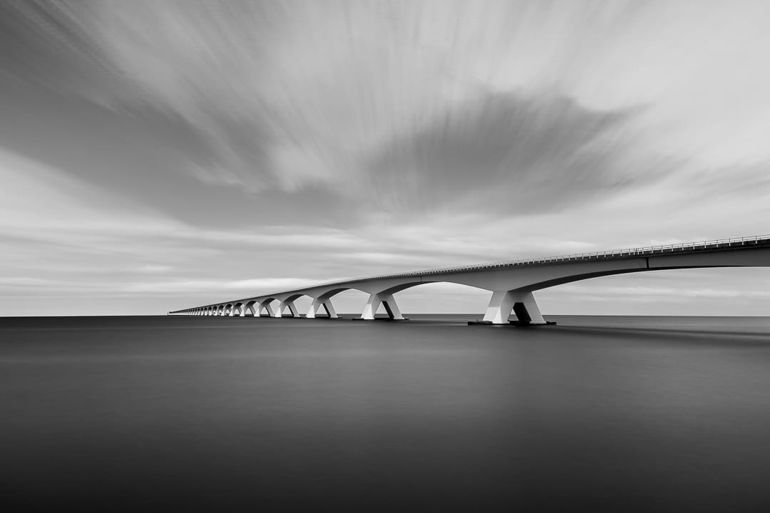 The Endless Bridge - Zeeland - Fotografie Krist