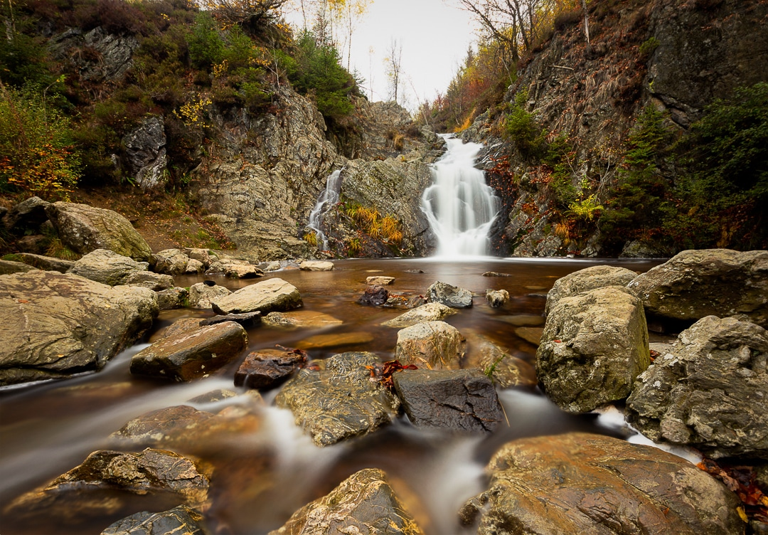 Cascade du Bayehon Malmedy - Fotografie Krist