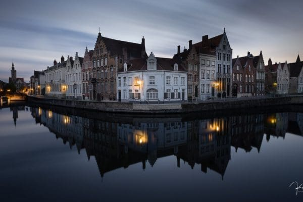 Bruges by Night - Spiegelrei