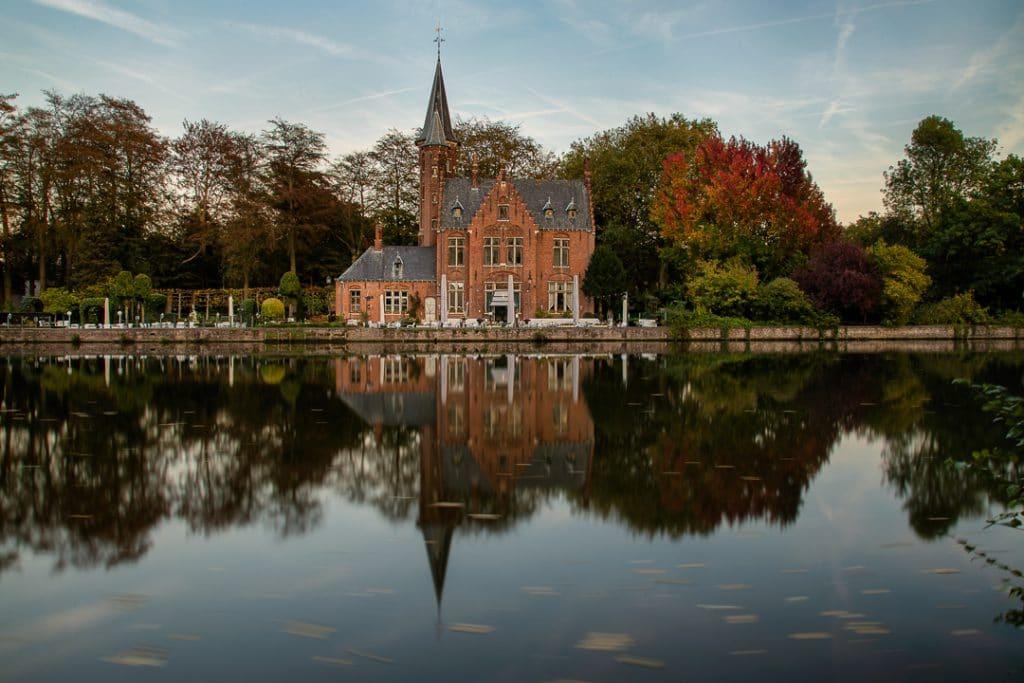 Brugge - Minnewaterpark tijdens de herfst