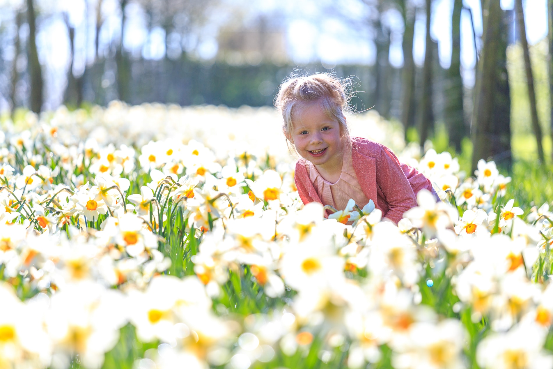Sara het bloemenmeisje