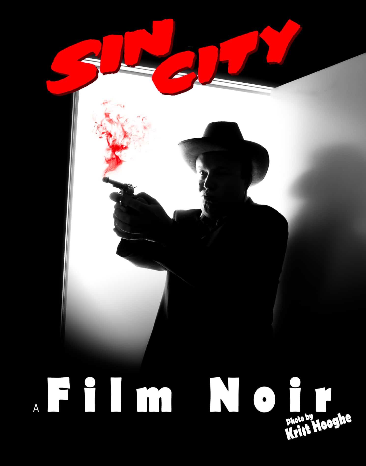 Film Noir Selfie