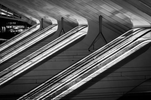 Luik  Liège Station Guillemins