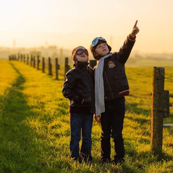 Thema fotoshoot op locatie met Sara en Mathias