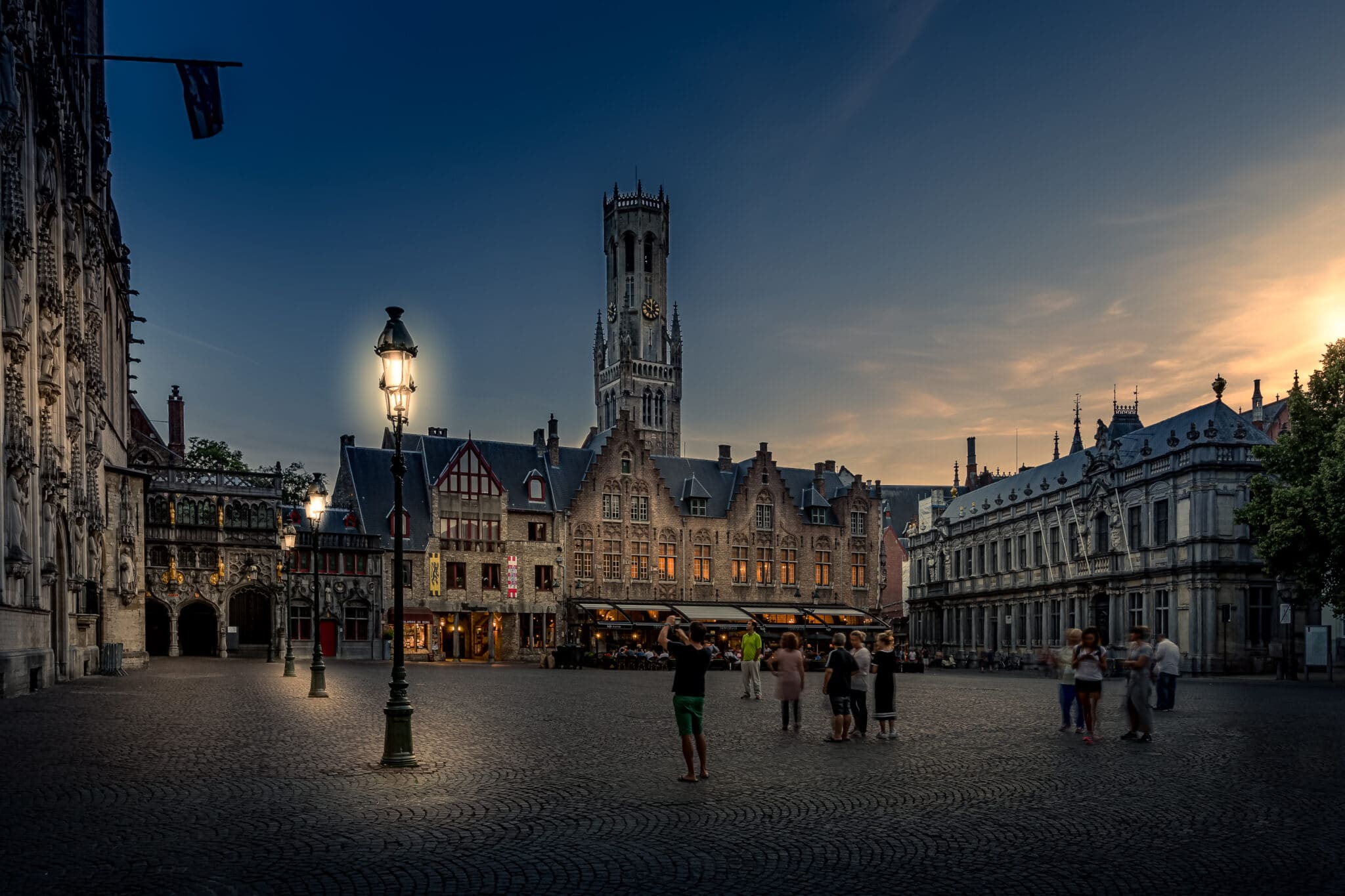 Cityscape Brugge - Fotografie Krist