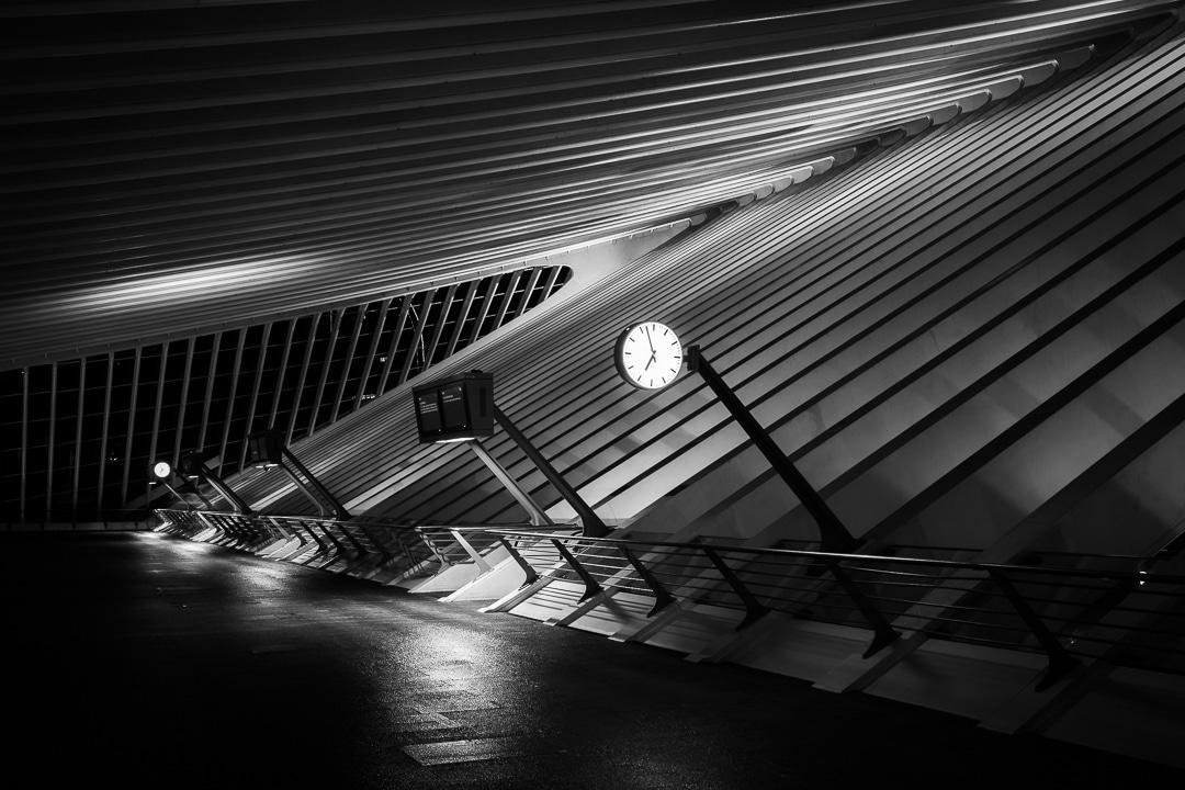 Cityscape - Luik Station Guillemins - Fotografie Krist