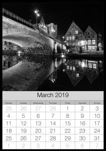 Kalender 2019 maart