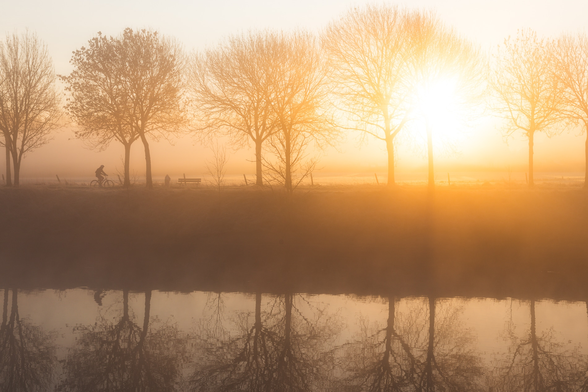 Fotografie Krist Hooghe Kalender Menen Januari Watertoren Palma