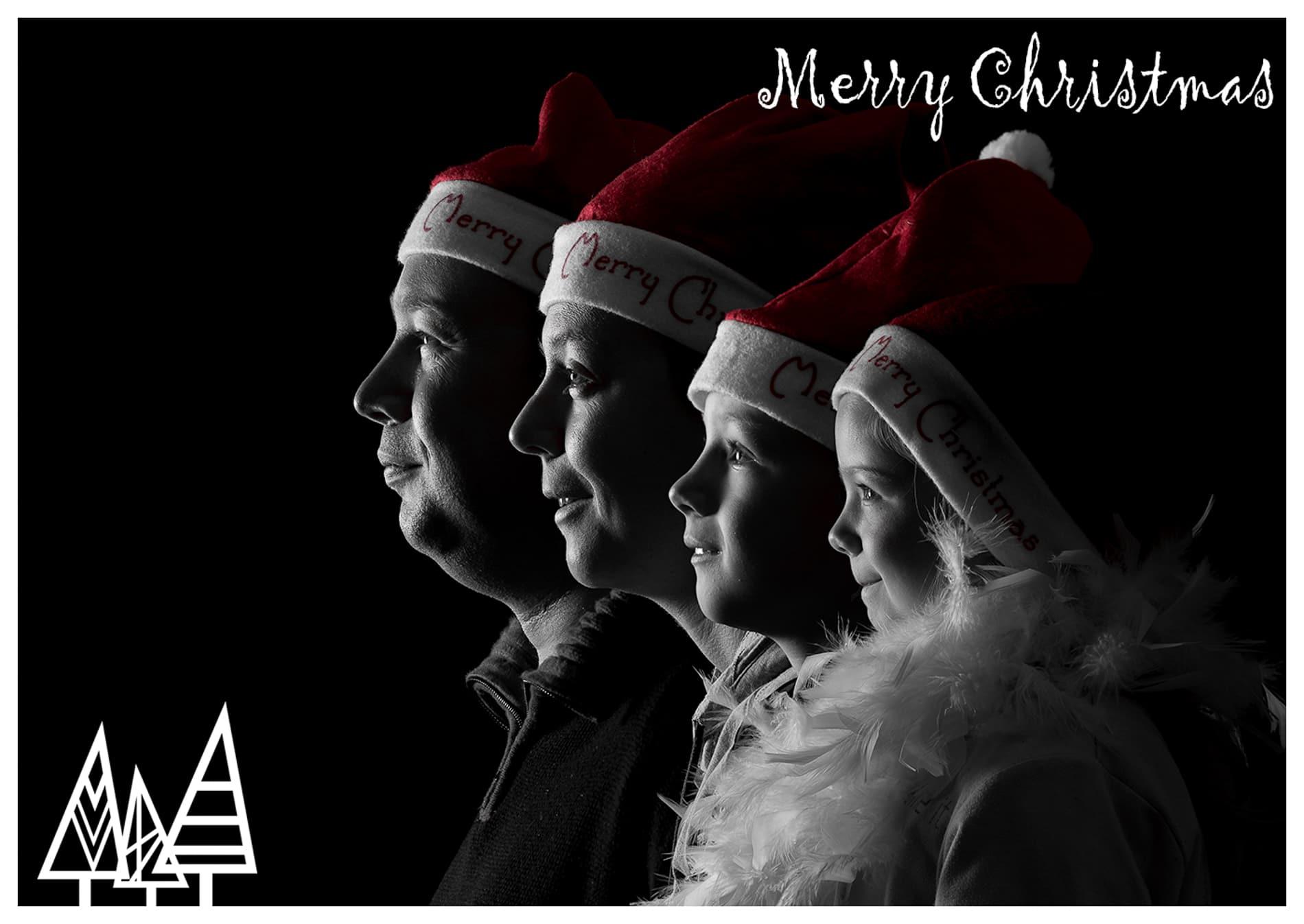 Kerstkaartje 2017 Merry Christmas