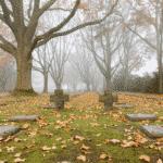 de warmste kalender 2020 - Menen Duits kerkhof op 11 november