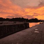 de warmste kalender 2020 - Zonsondergang langs de Leie in Menen (1)