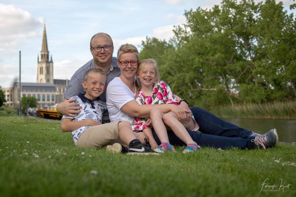 Familie Fotoshoot op Locatie - Balokken Wervik