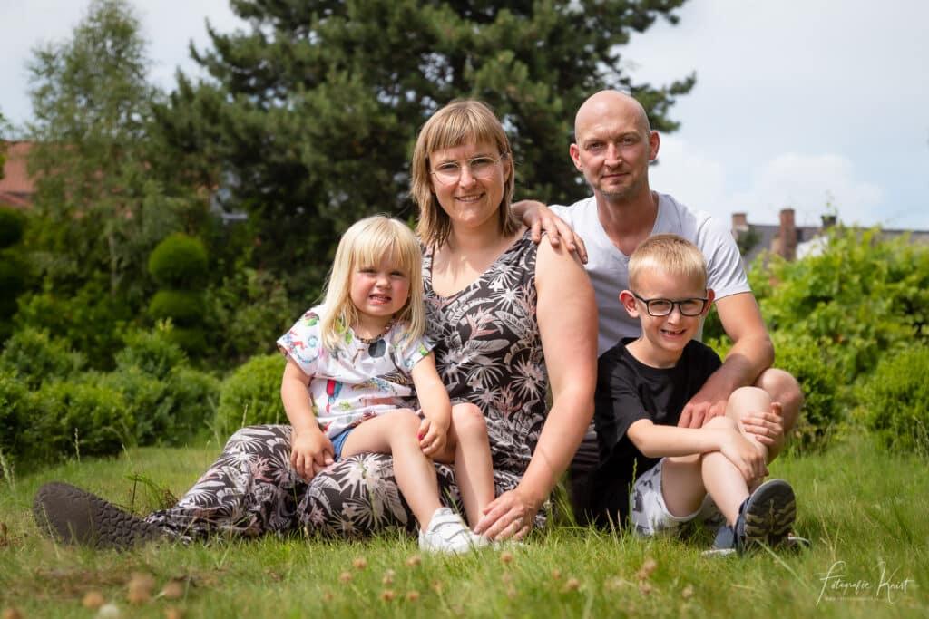 Fotoshoot op Locatie in Wevelgem -Familie Leenkneght