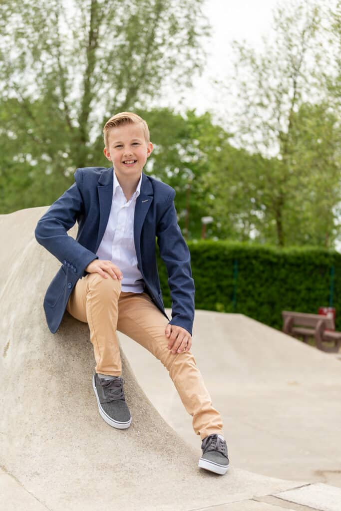 Communiefoto's Jongen Skatepark Izegem Leest