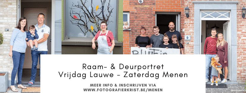 Raam- & DeurPortret in Lauwe, Menen & Rekkem