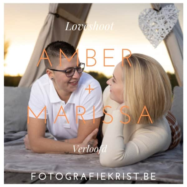 Blog Amber + Marissa Verloofd Loveshoot Domein Bergelen te Gullegem