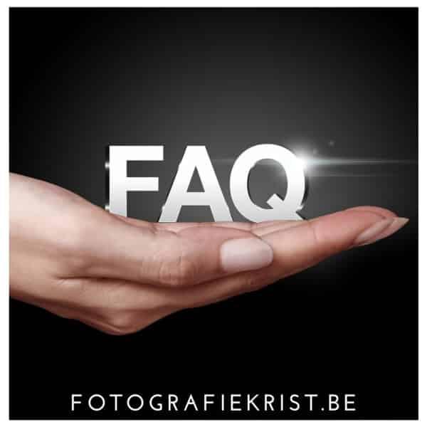 FAQ - vaak gestelde vragen