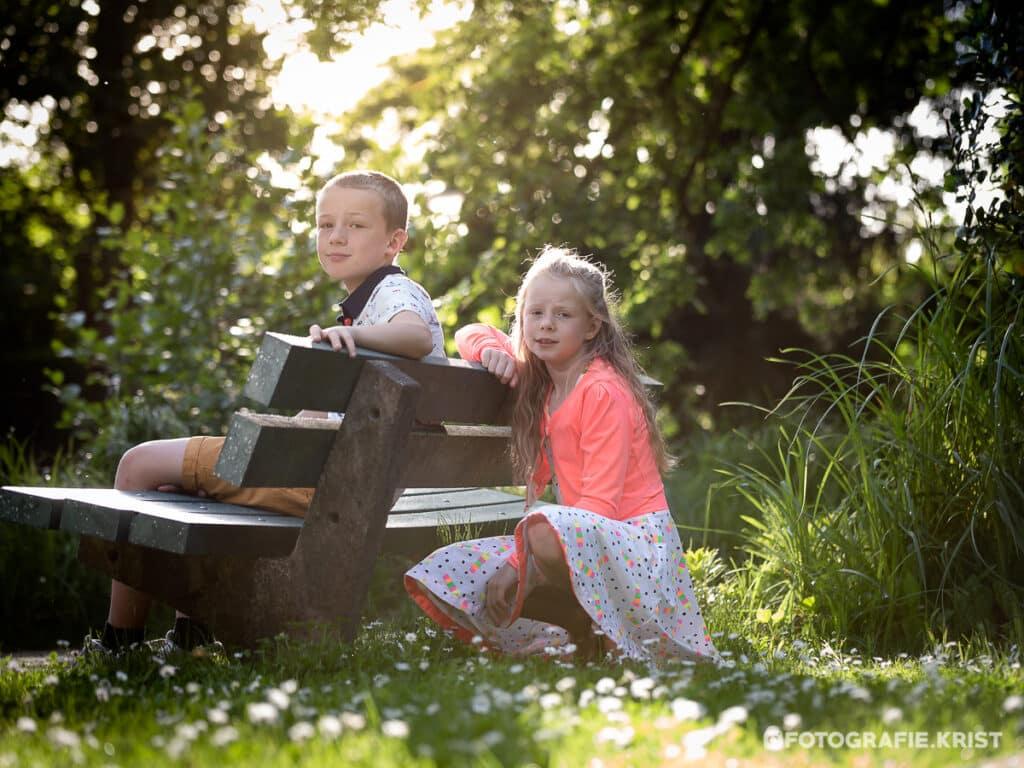 Sara & Mathias in het Bois de Boulogne
