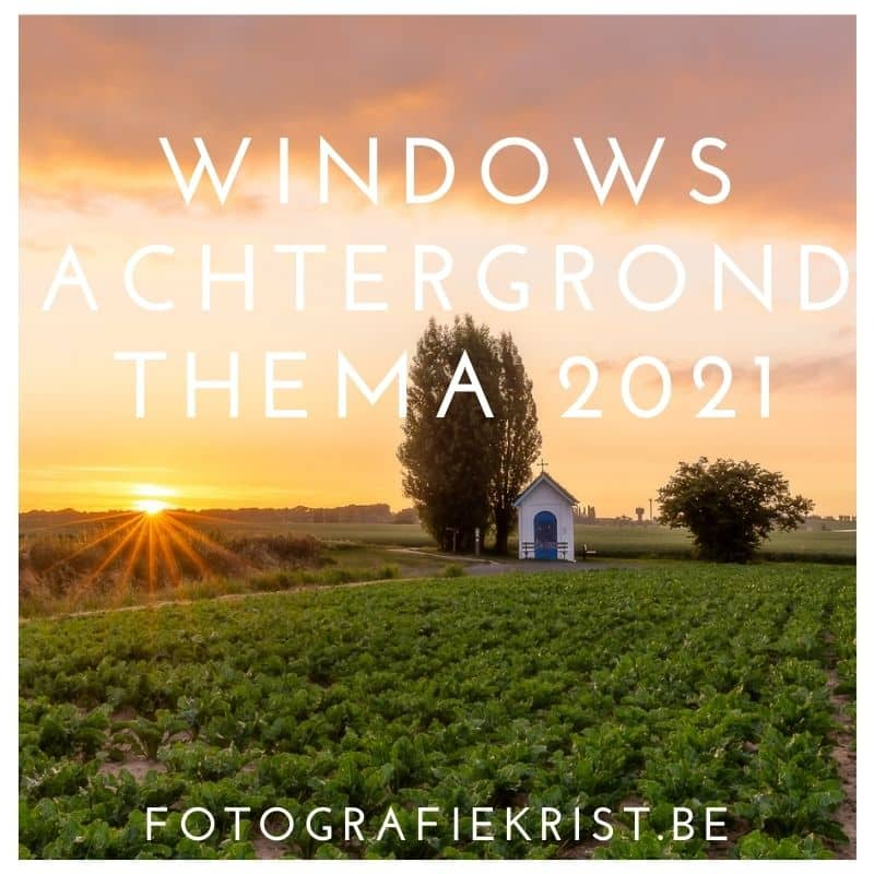 Windows Bureaublad Thema 2021