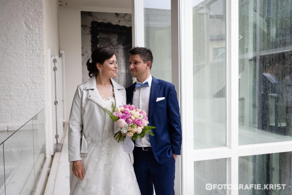 Huwelijkreportage Foto Stadhuis Menen - Fotografie Krist