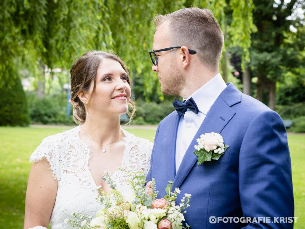 Huwelijk Guy&Gaelle - Bois de Boulogne - Huwelijksfotograaf Menen