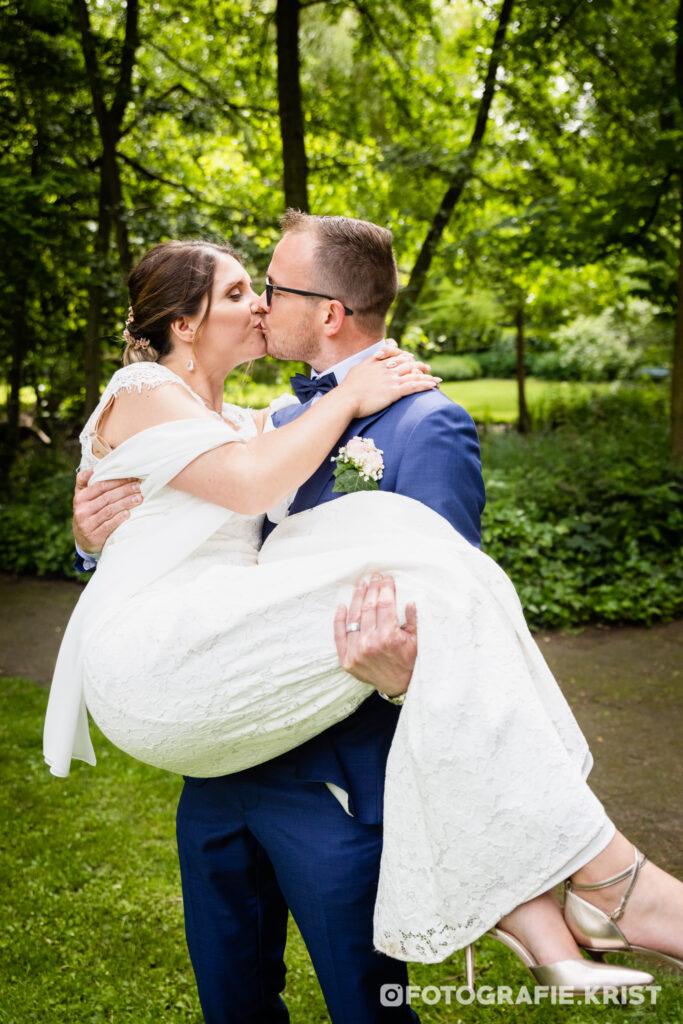 Huwelijk Guy&Gaelle - Bois de Boulogne - Huwelijksfotograaf Menen - Stadhuis Menen
