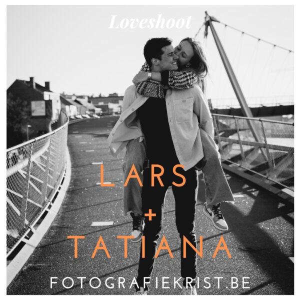 Lars & Tatyana Loveshoot fotolocatie Centrum Kortrijk