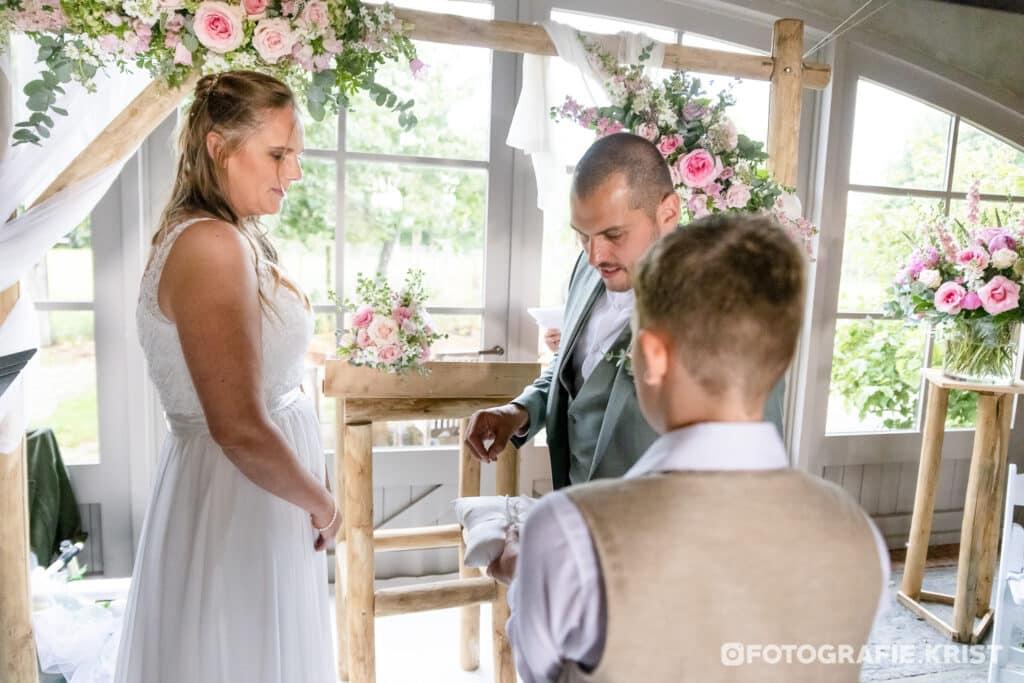 Huwelijk Julie & Mitch - Fotografie Krist - Spegelhof Wervik