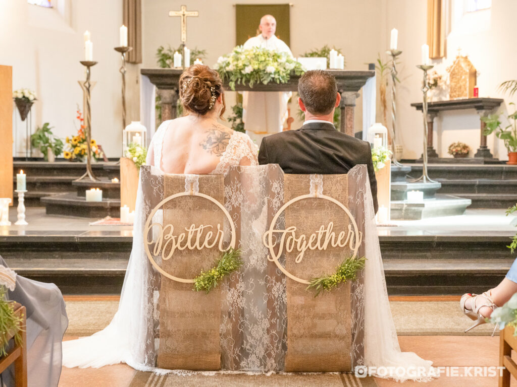 Huwelijksreportage - FotografieKrist - de Panne - Oblatenkapel