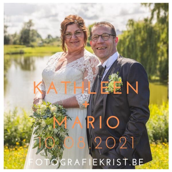 Huwelijkreportage Kathleen & Mario